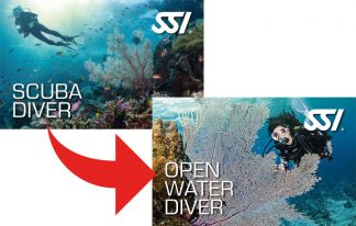 Upgrade Scuba Diver a Open Water Diver