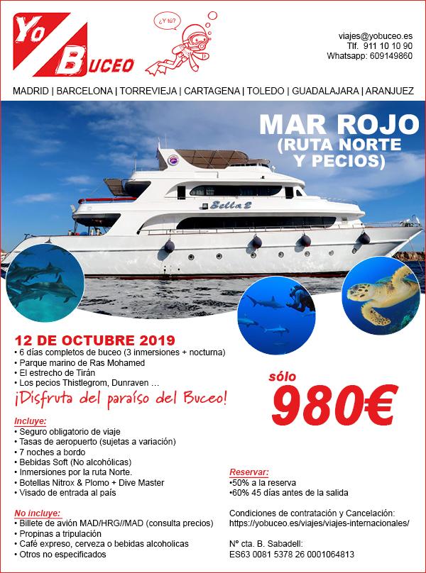 Viaje de Buceo Mar Rojo